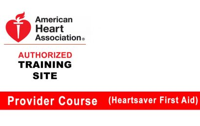 Heartsaver first aid course