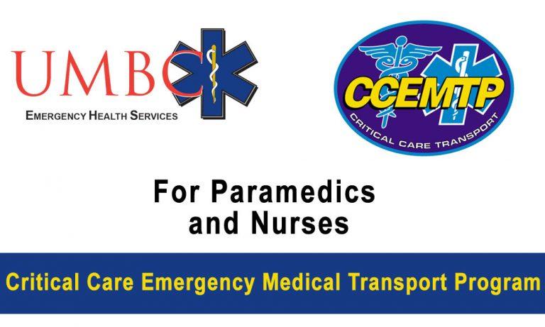 UMBC Critical Care Emergency Medical Transport Program