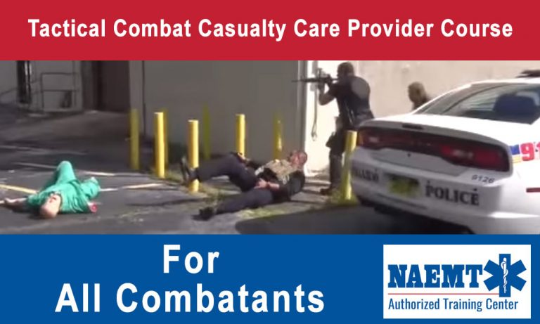 Tactical Combat Casualty Care Provider Course – All Combatants