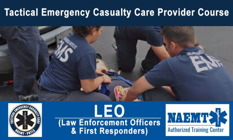 Tactical Emergency Casualty Care – LEO